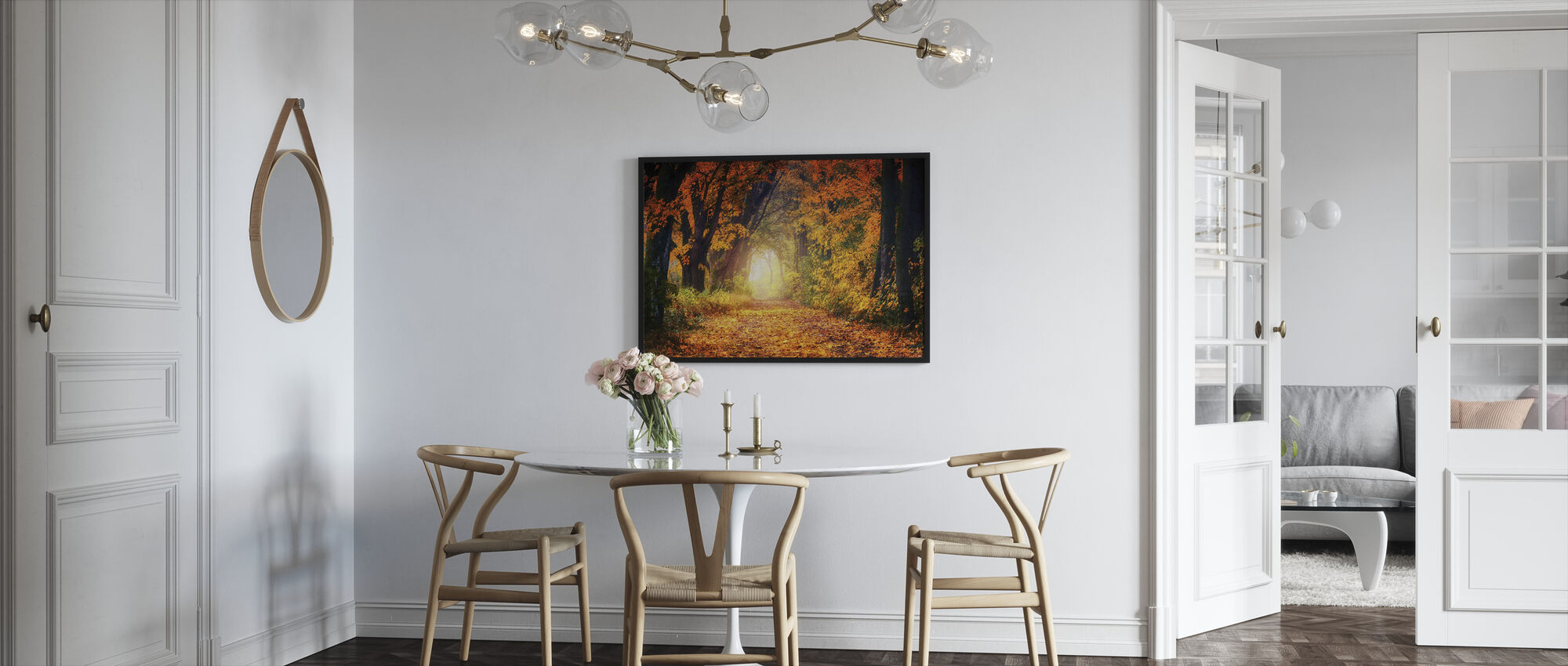 Forest Path - Framed print - Kitchen