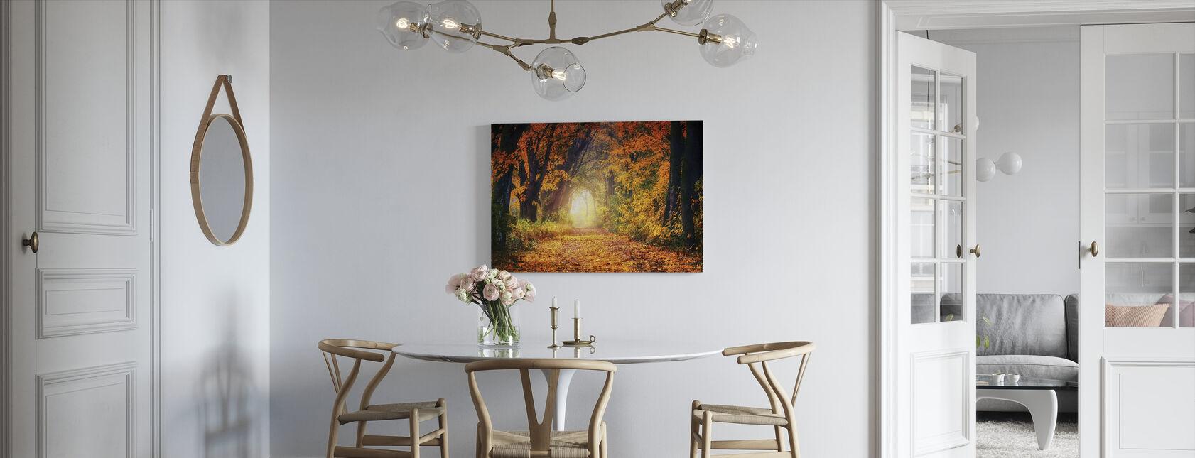 Forest Path - Canvas print - Kitchen