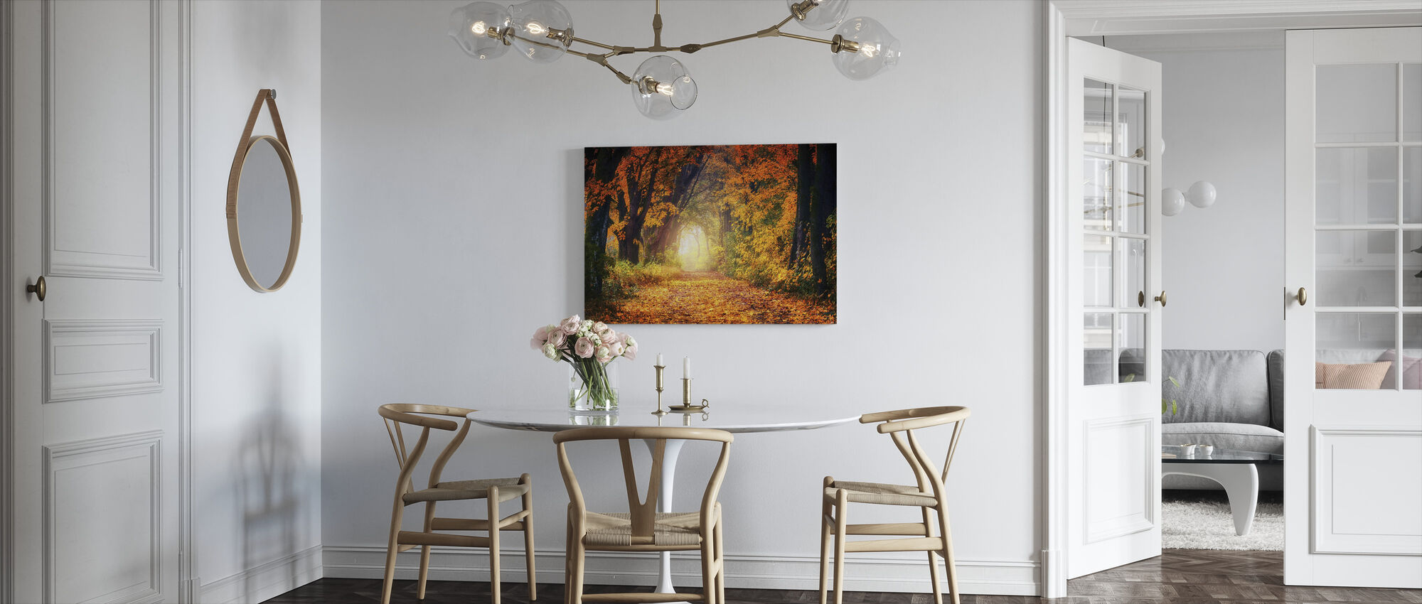 Forest Path - Canvas print - Kitchen