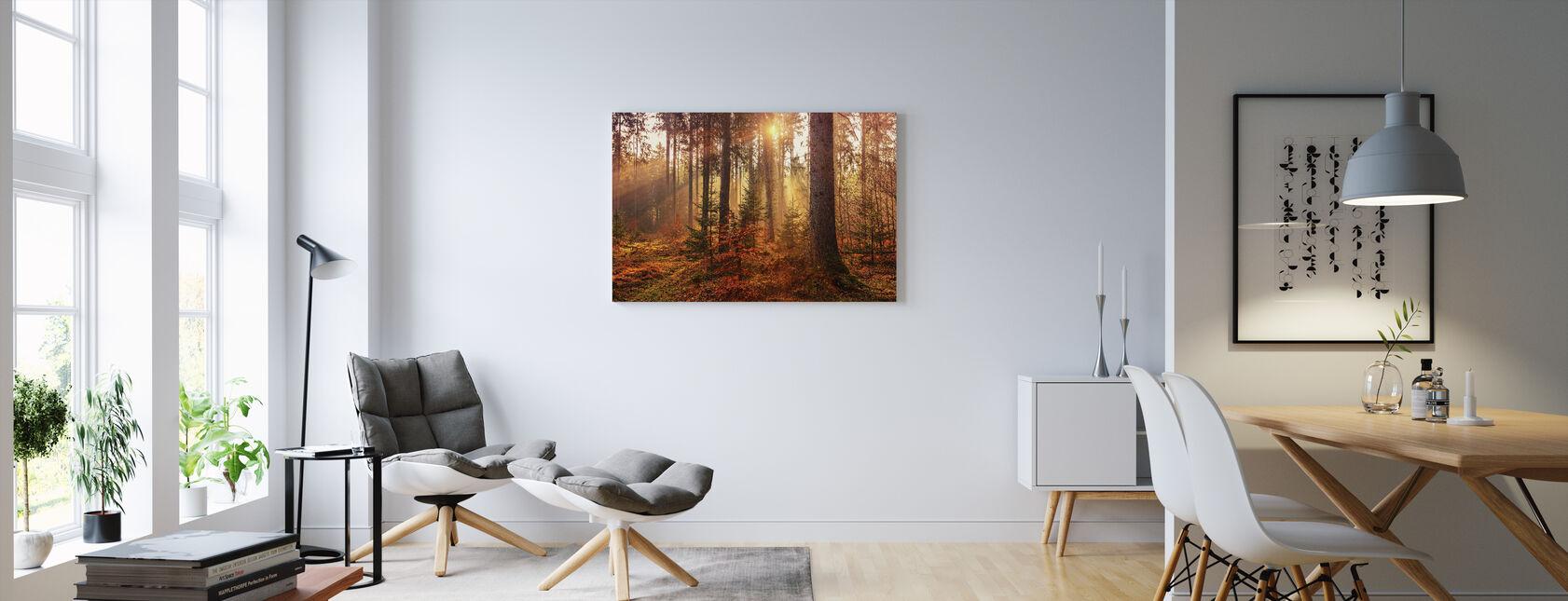 Autumn - Canvas print - Living Room