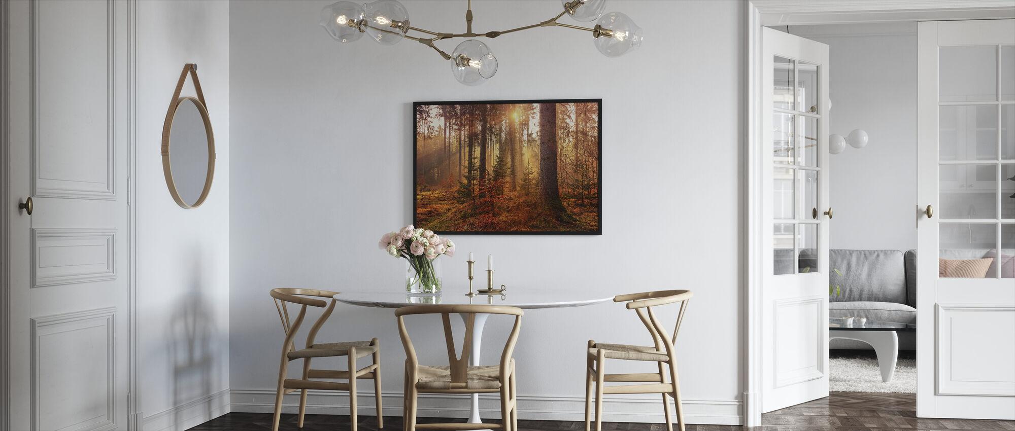 Autumn - Framed print - Kitchen