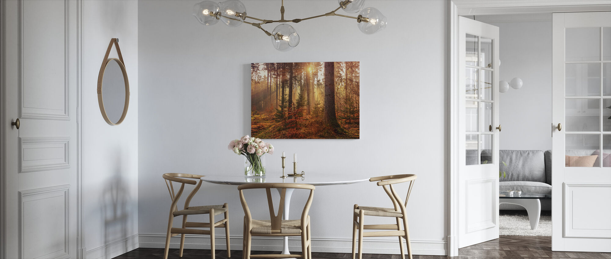 Autumn - Canvas print - Kitchen