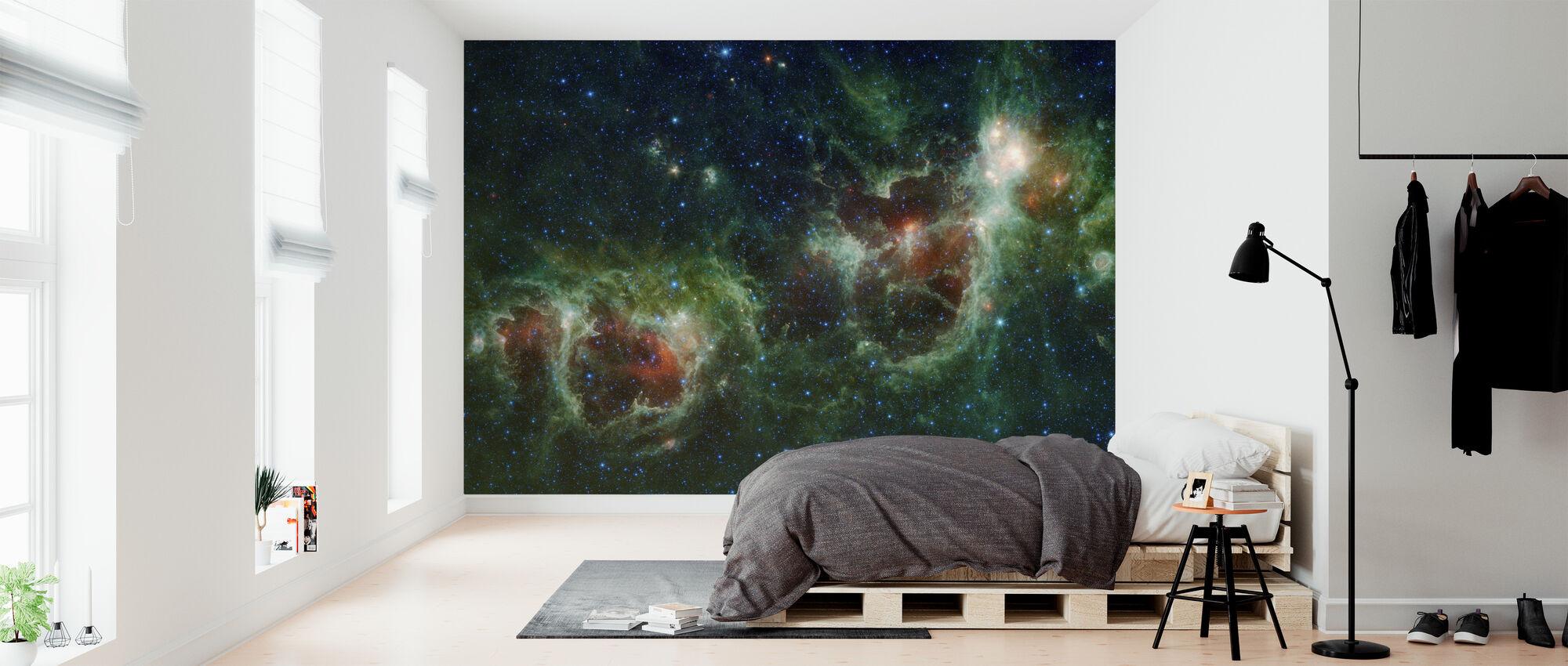 Ulkoavaruuden kosmos - Tapetti - Makuuhuone