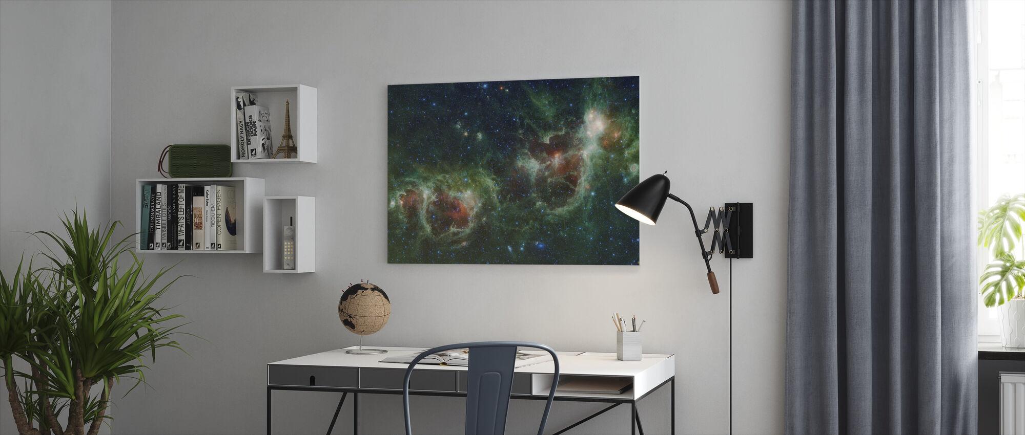 Kosmos ydre rum - Billede på lærred - Kontor