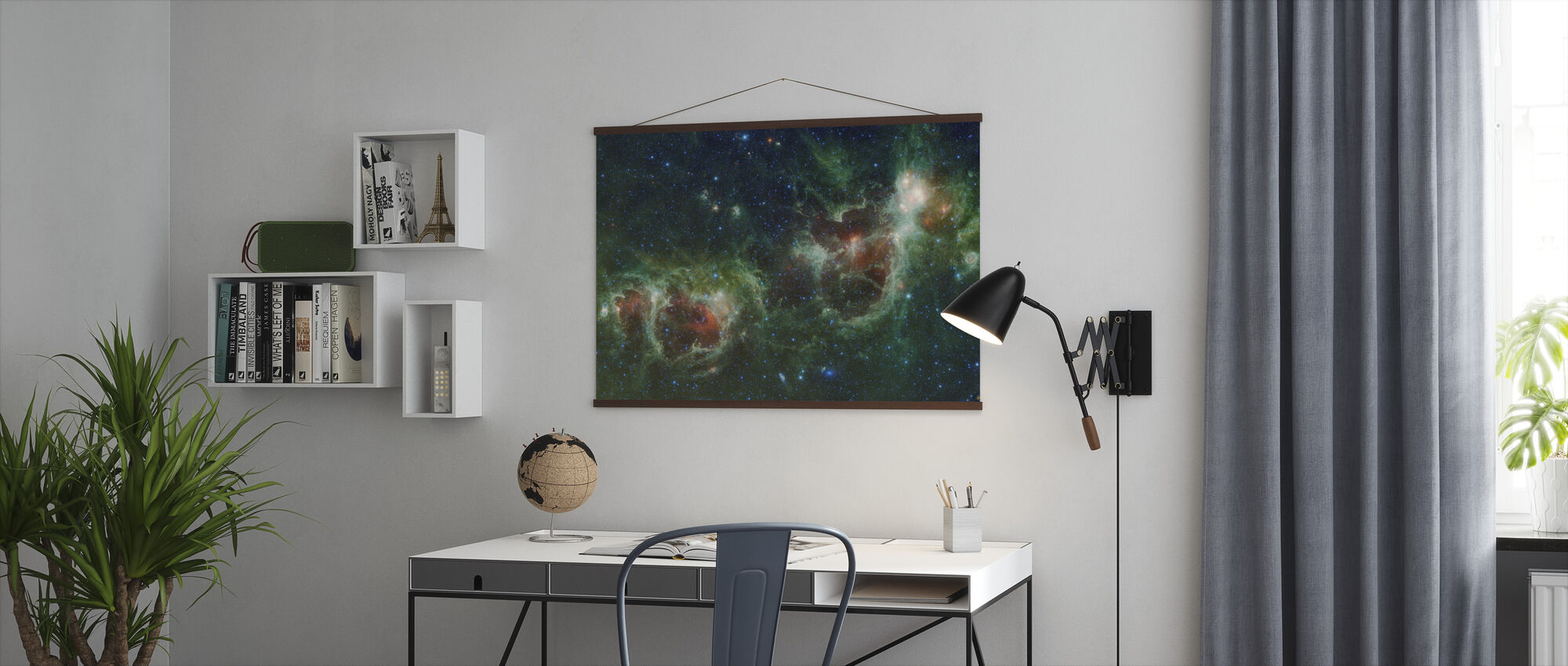 Outer Space Cosmos - Poster - Office