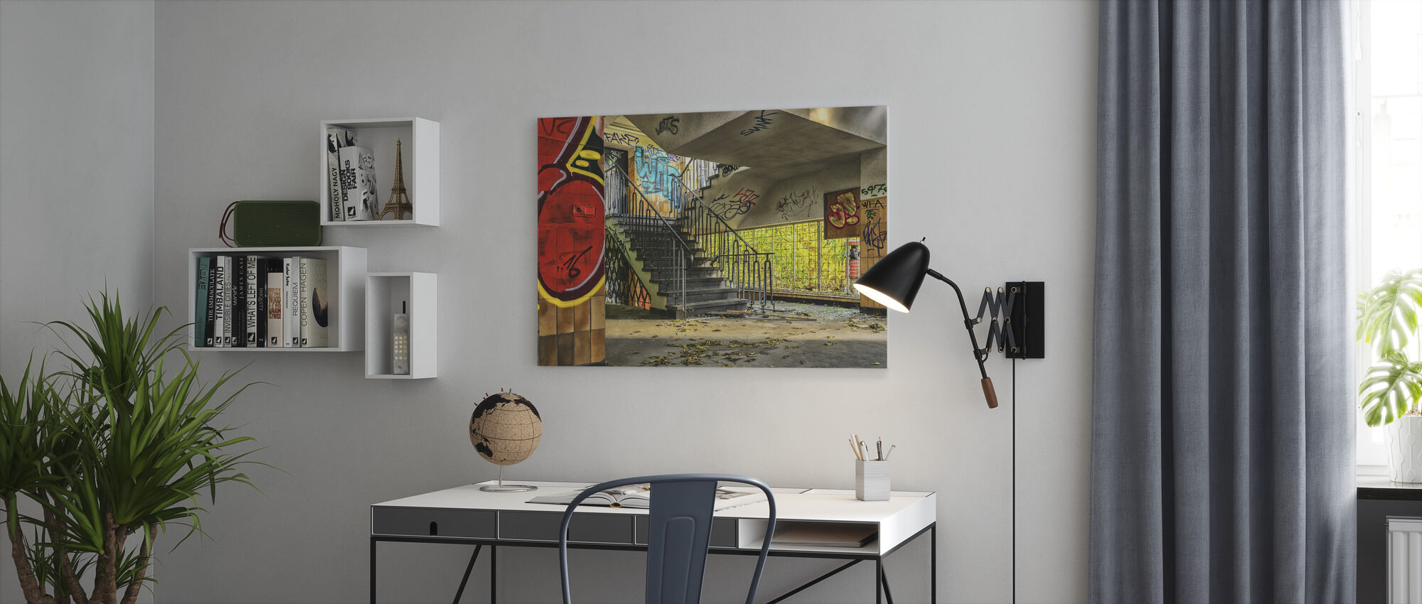 Staircase - Canvas print - Office