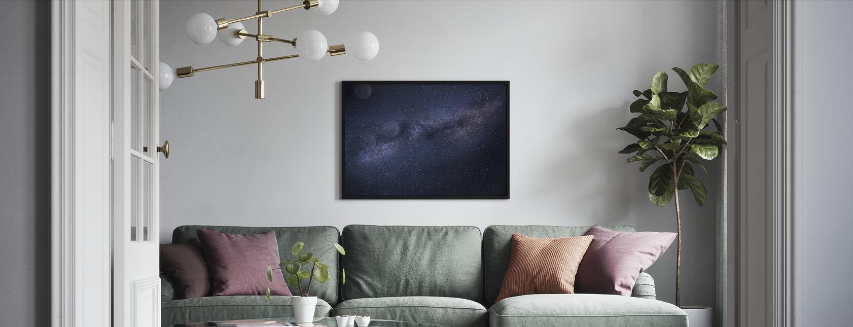 Milky Way Skyscape - Framed print - Living Room