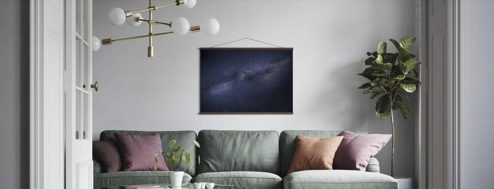 Milchstraße Skyscape - Poster - Wohnzimmer