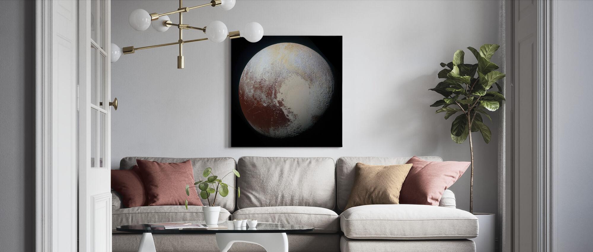 Dwarf Planet - Canvas print - Living Room