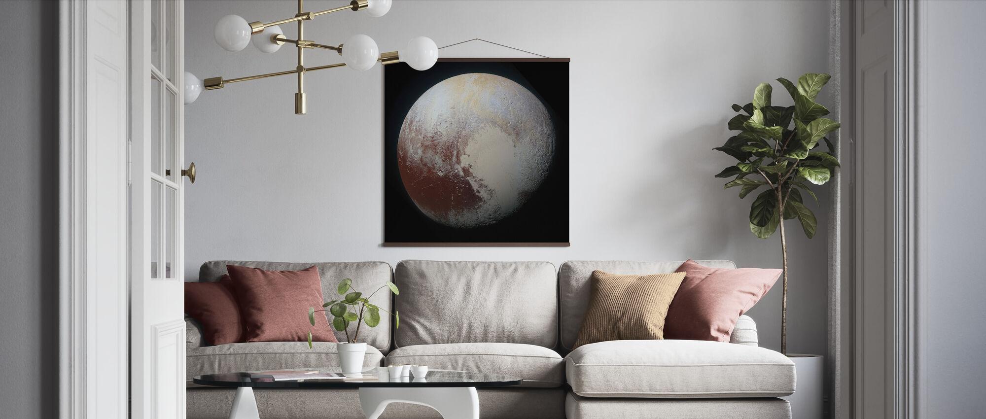 Dvärg Planet - Poster - Vardagsrum