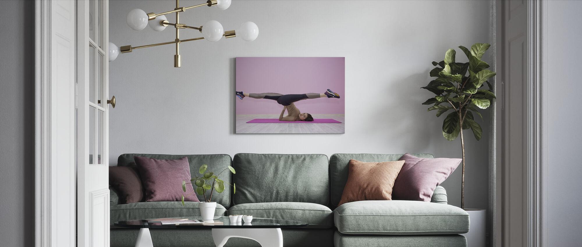 Træning Træning - Billede på lærred - Stue