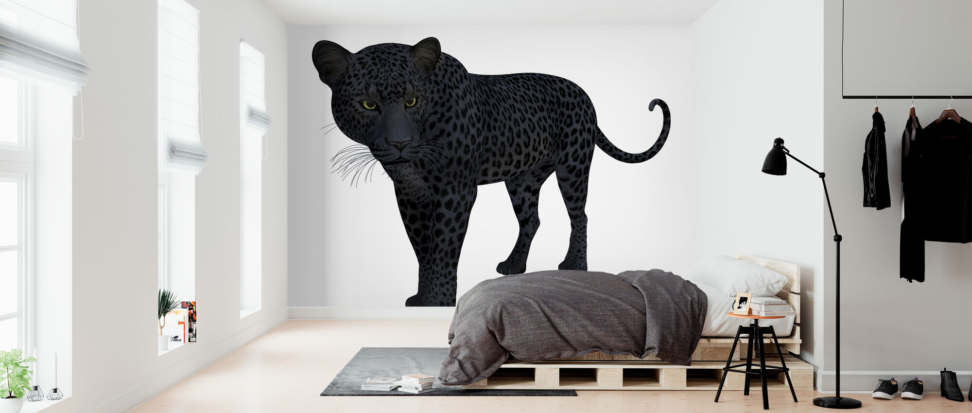 Black Panther - Wallpaper - Bedroom