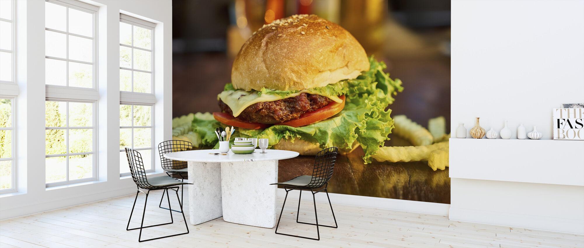 Burger - Tapet - Kjøkken
