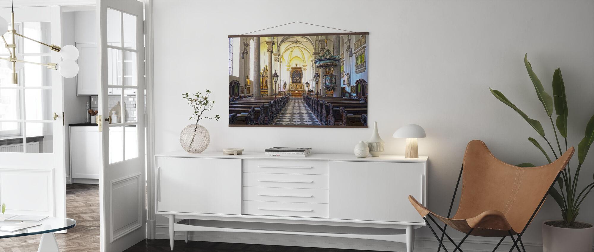 Church Pews - Poster - Living Room