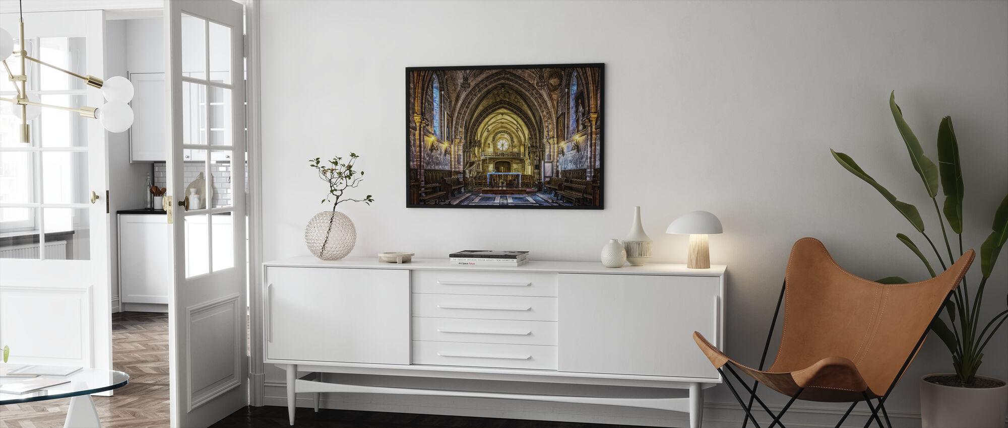 Dom Church - Framed print - Living Room