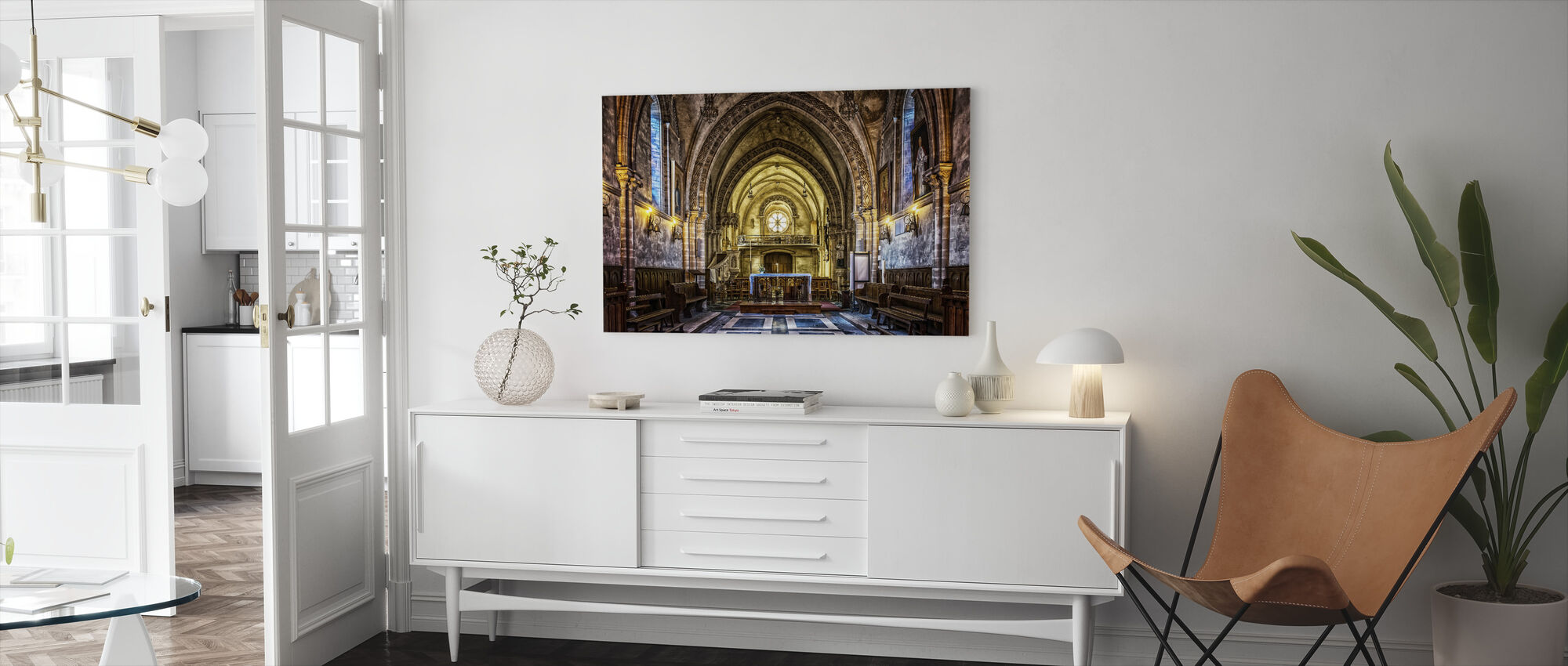 Dom Church - Canvas print - Living Room