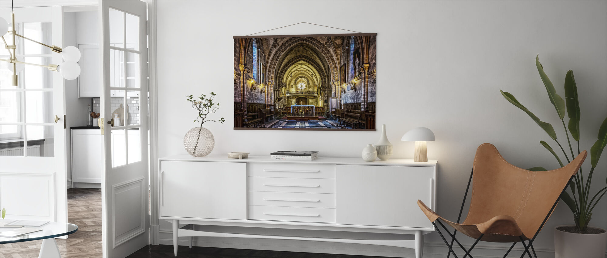 Dom Church - Poster - Living Room