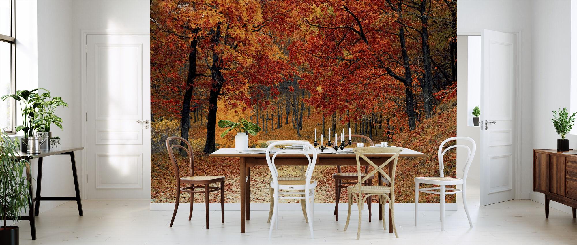 Woods Pad - Behang - Keuken