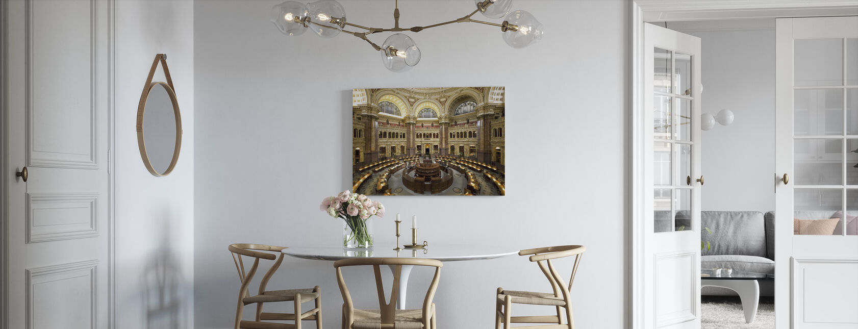 Research Library - Canvas print - Kitchen