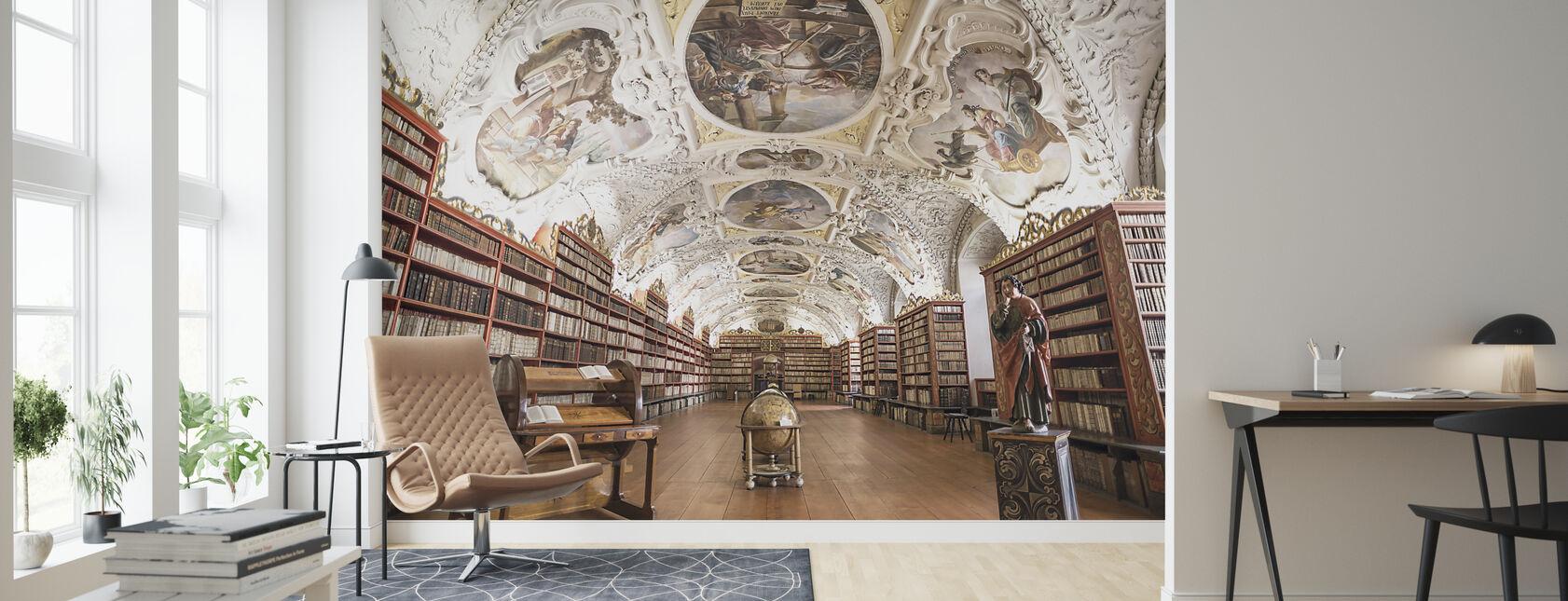 Luostarin kirjasto - Tapetti - Olohuone