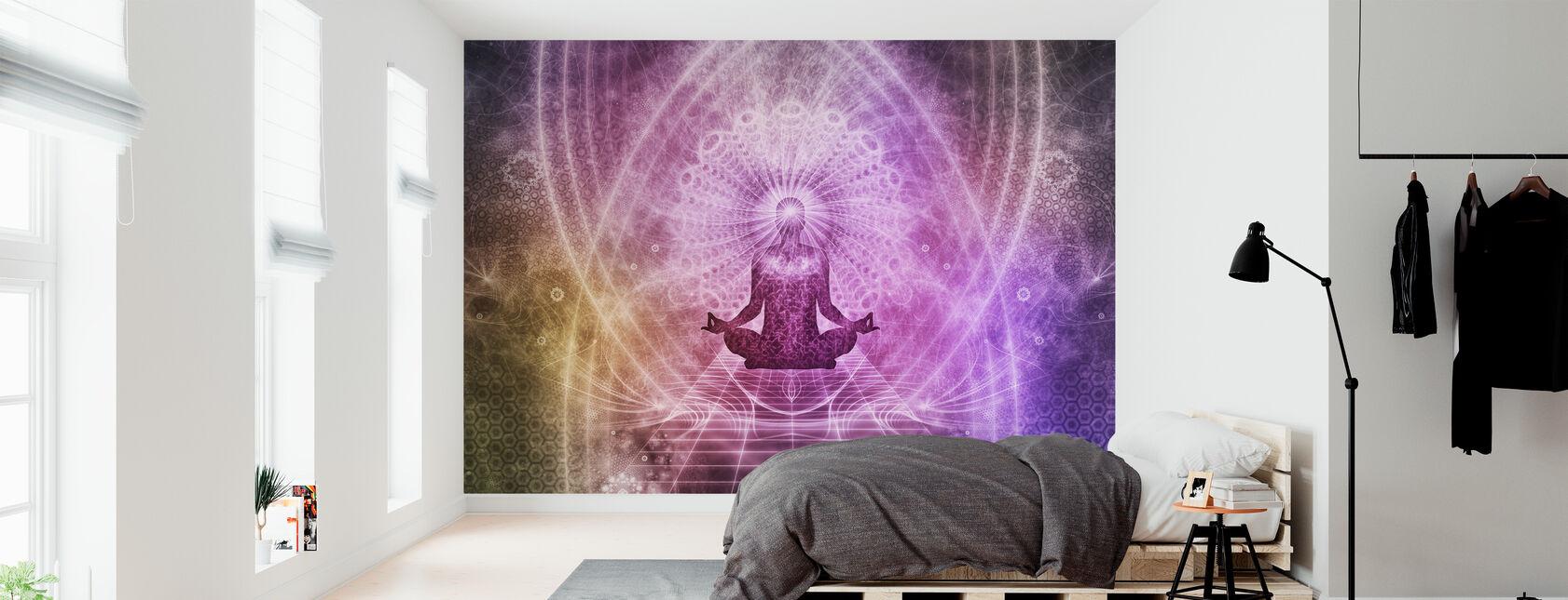 Henkinen meditaatio - Tapetti - Makuuhuone