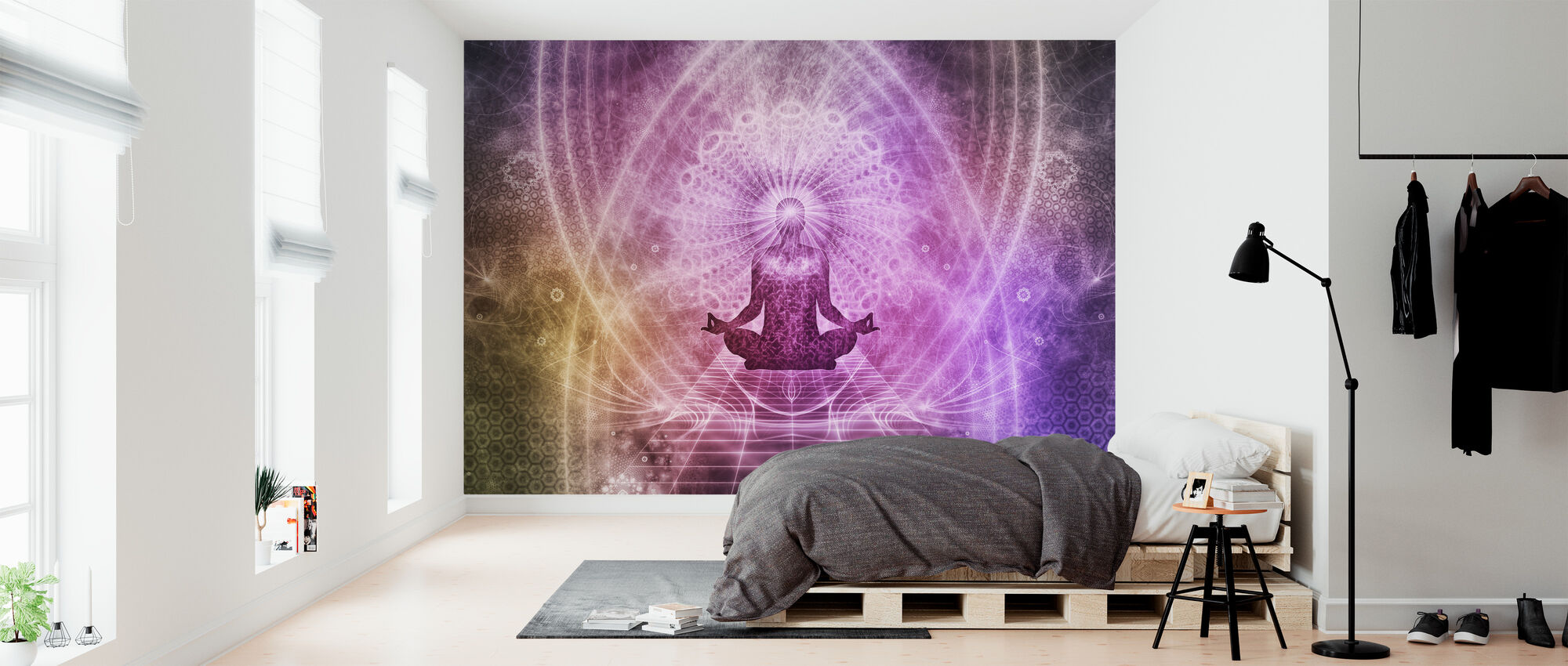 Spiritual Meditation - Wallpaper - Bedroom
