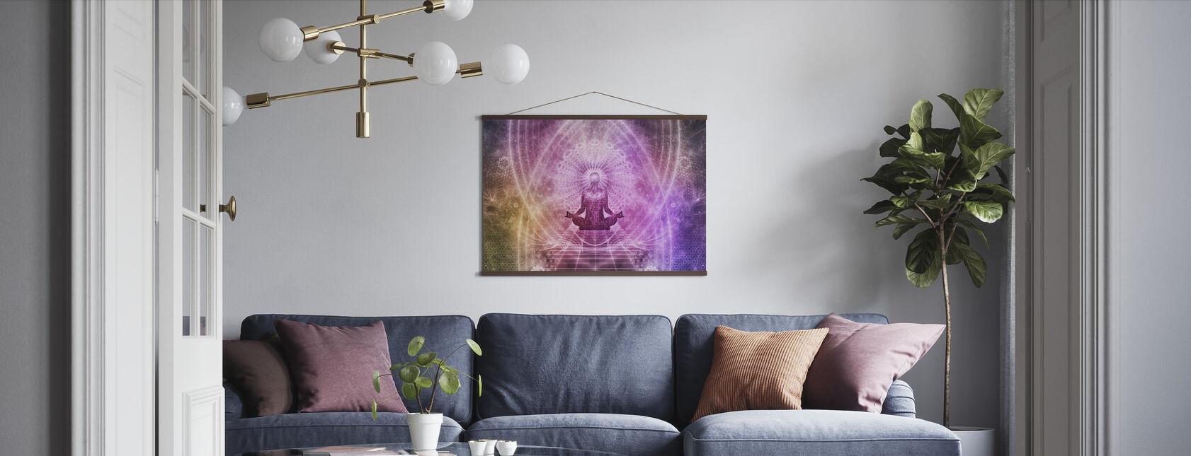 Andlig Meditation - Poster - Vardagsrum
