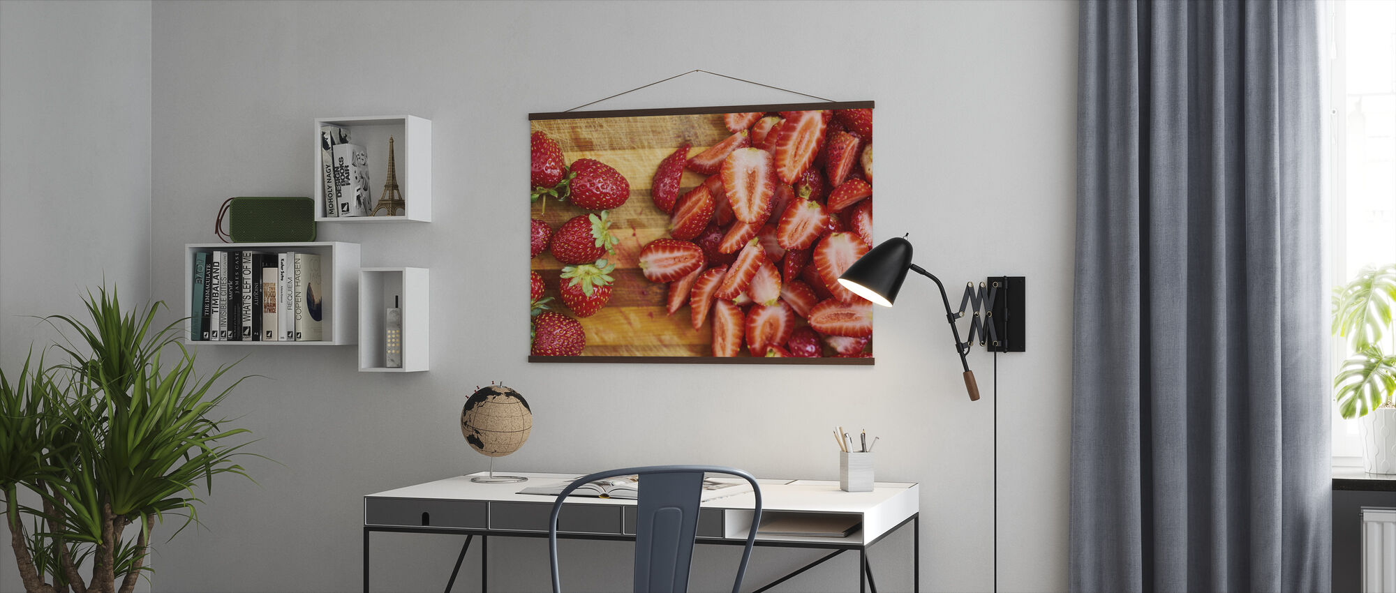 Strawberry Fruits - Poster - Office