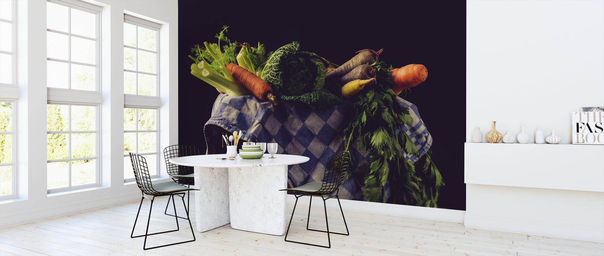 Vihanneksia - Tapetti - Keittiö