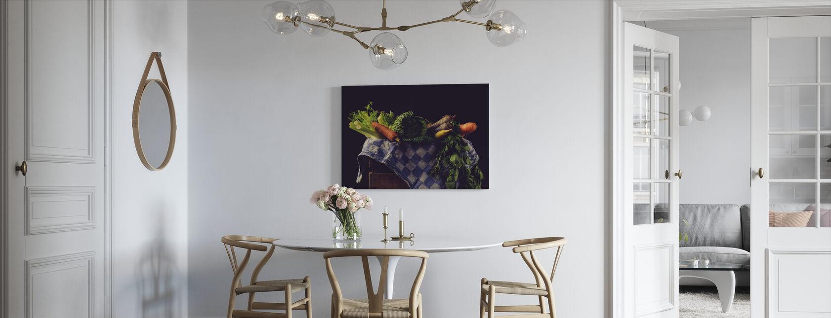 Groenten - Canvas print - Keuken