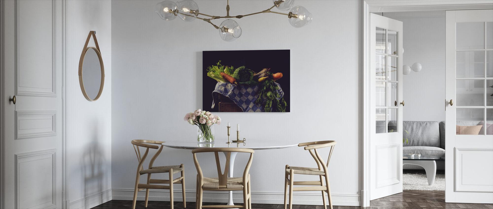 Vegetables - Canvas print - Kitchen