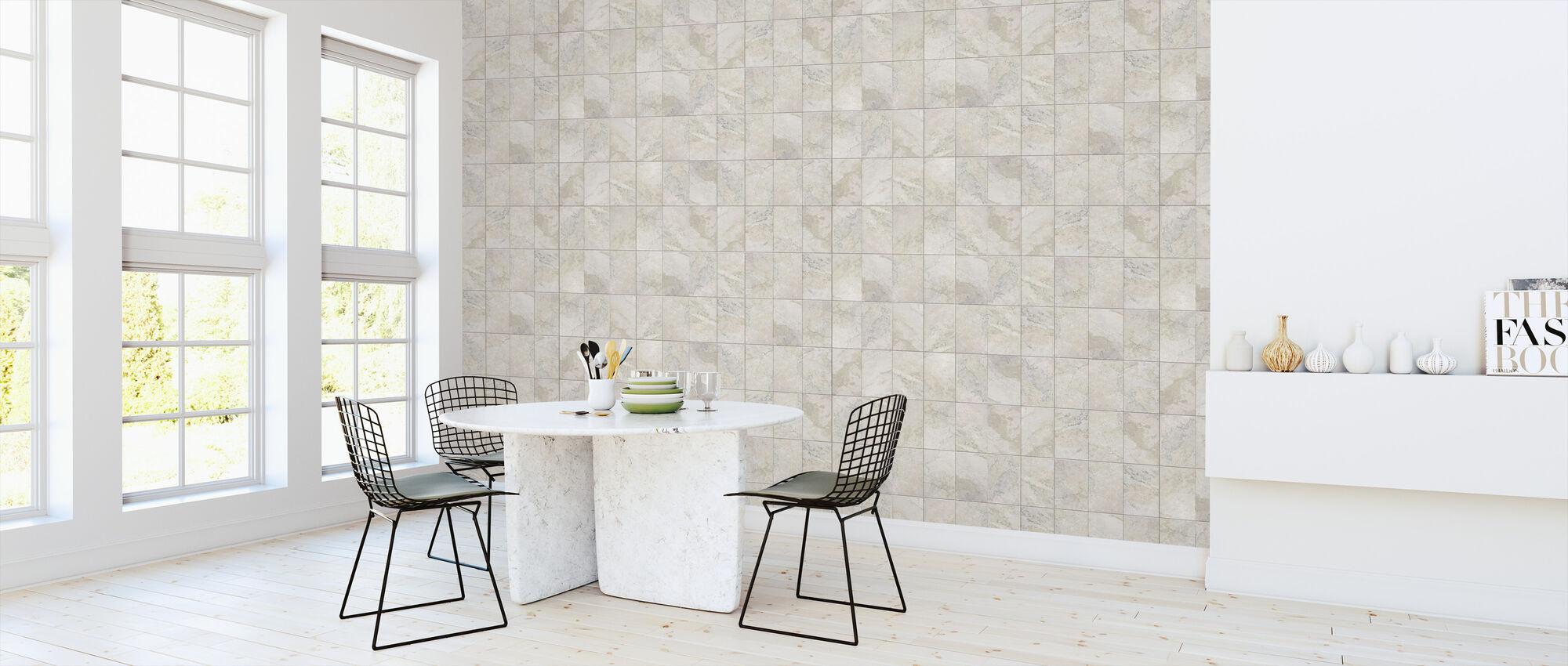 Seamless Marble Tiles - Wallpaper - Kitchen
