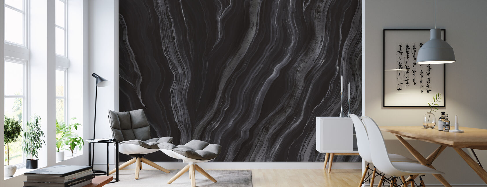 Unearth - Onyx - Wallpaper - Living Room