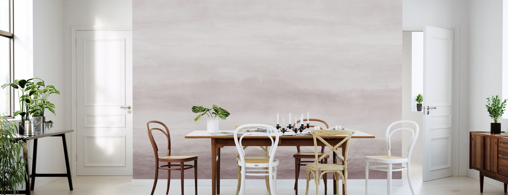 Vista - Mineral Rosa - Papel pintado - Cocina