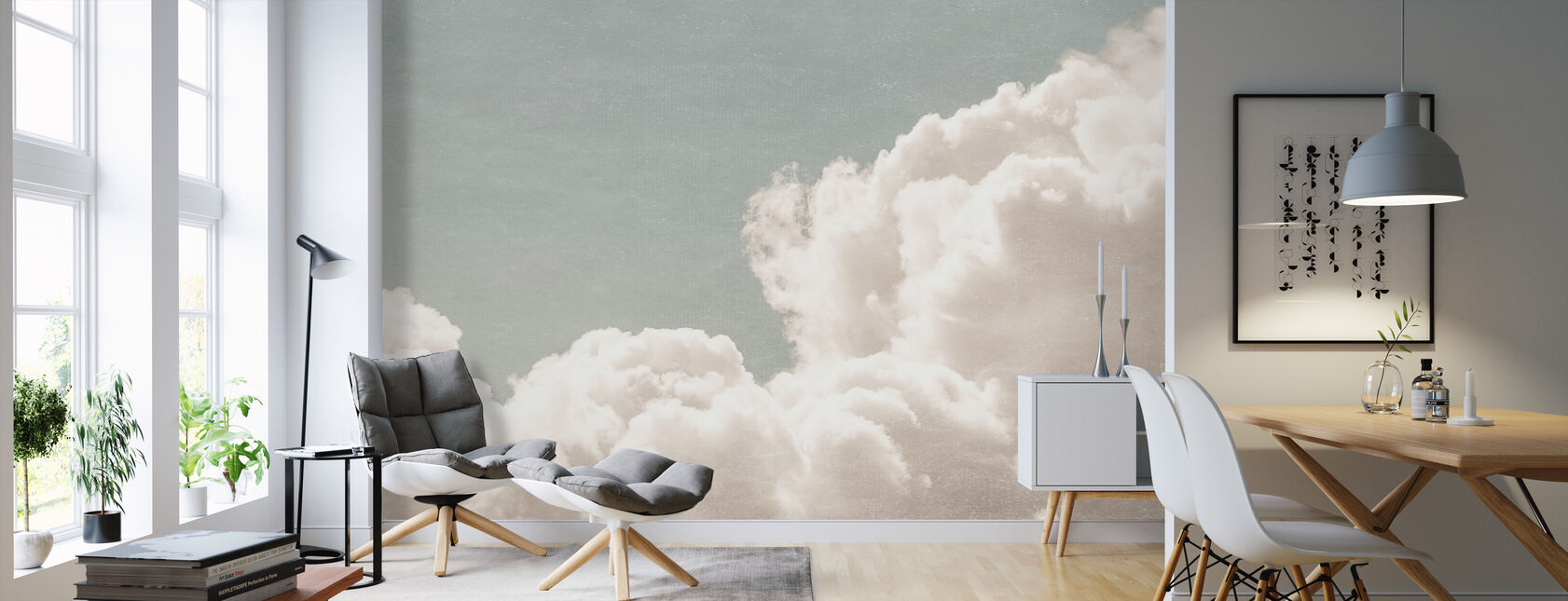 Blush Clouds Daydream Filter - Wallpaper - Living Room