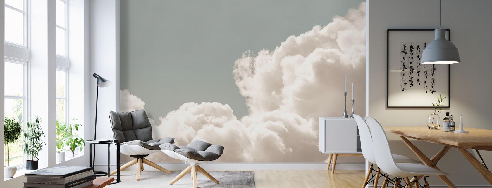 Blush moln dagdröm - Tapet - Vardagsrum
