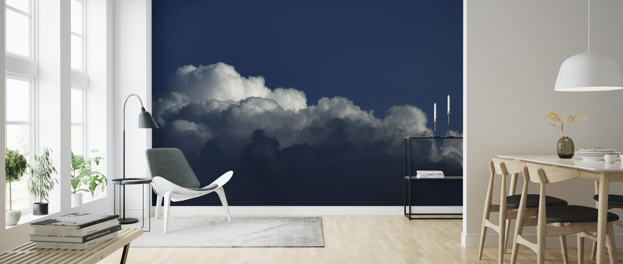 Gradient Cloud II - Wallpaper - Living Room