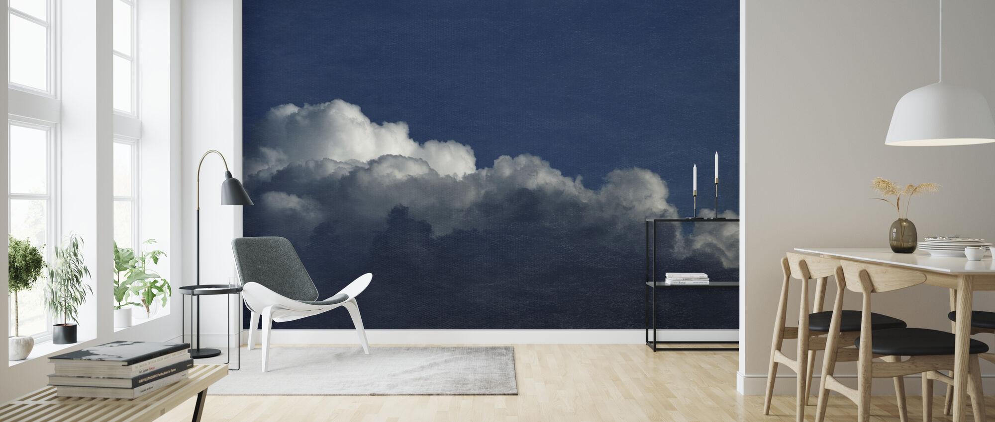 Gradient Cloud Filter III - Wallpaper - Living Room