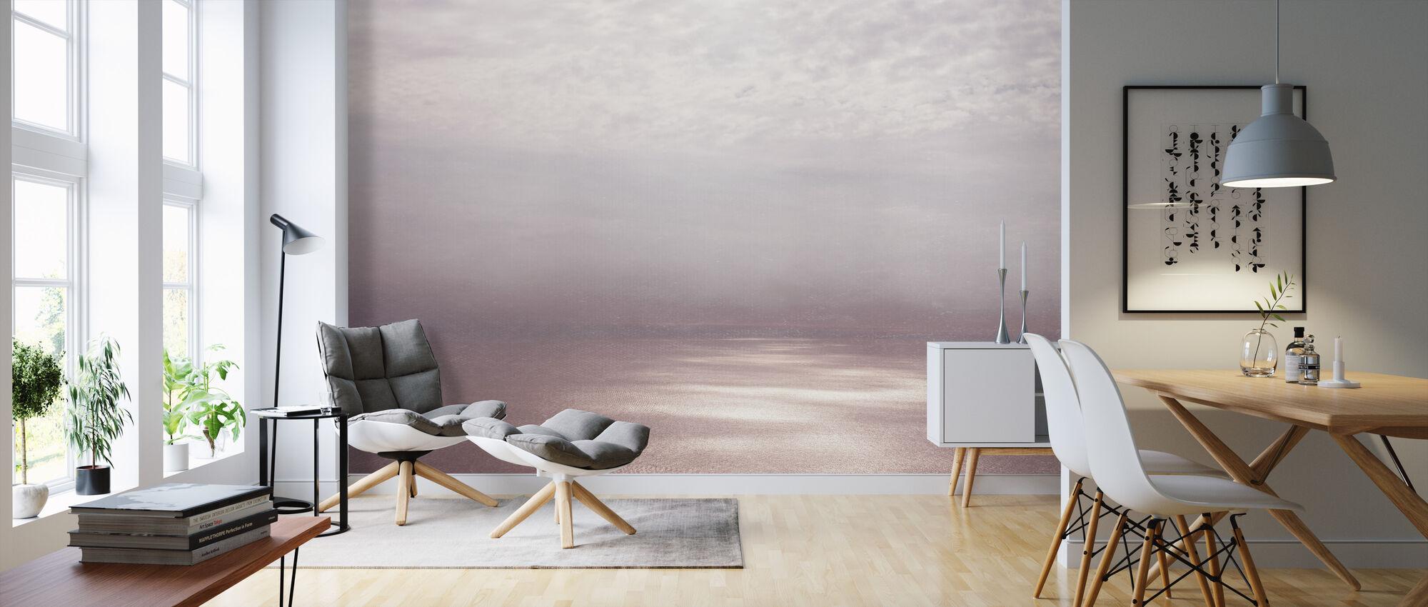 Smoke Horizon Dawn Filter - Wallpaper - Living Room
