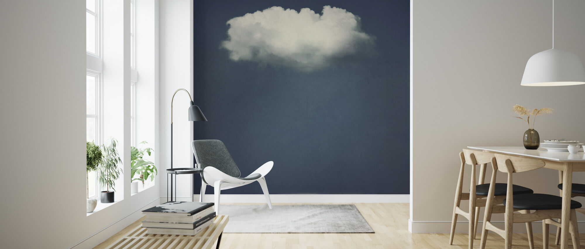 Solo Cloud - Behang - Woonkamer