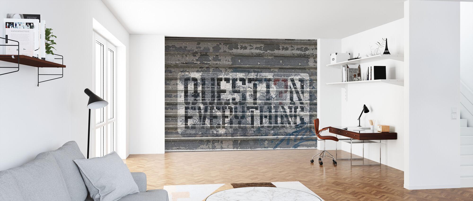 Graffiti Street Art - Papier peint - Bureau