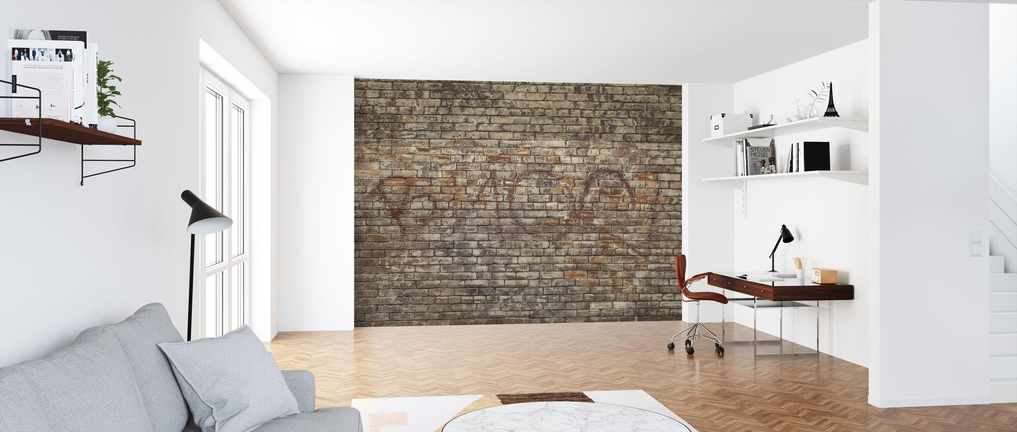 Murvegg Graffiti - Tapet - Kontor