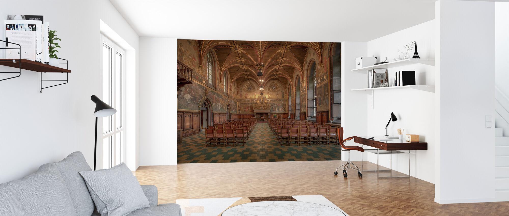 Bruges City Hall - Wallpaper - Office