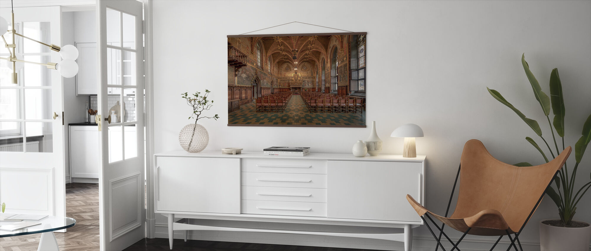 Bruges City Hall - Poster - Living Room