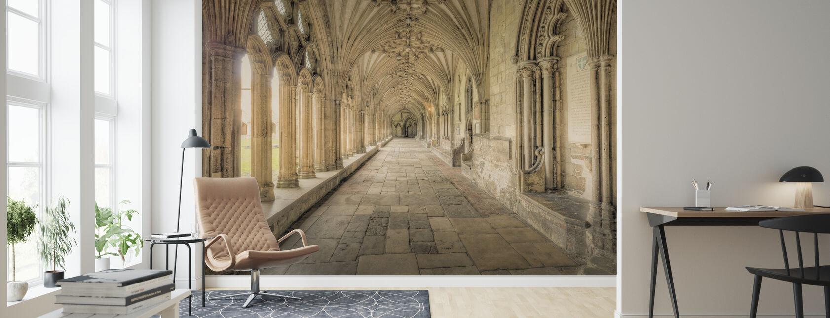 Katedralen Korridorer - Tapet - Stue