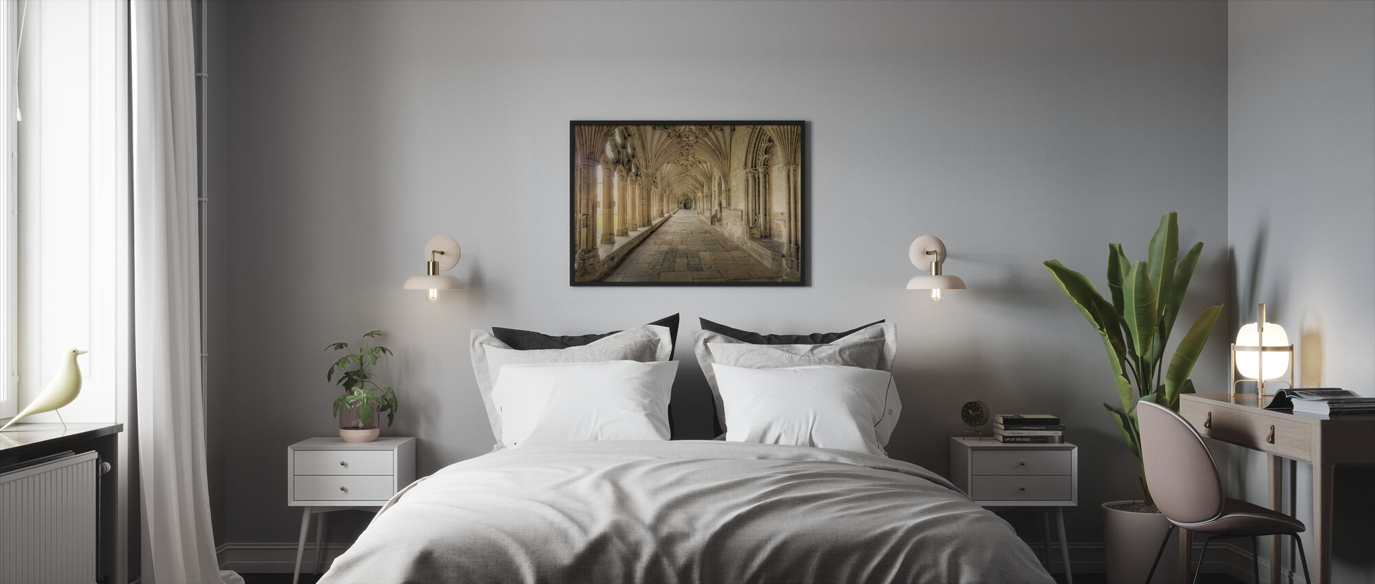 Cathedral Corridors - Framed print - Bedroom