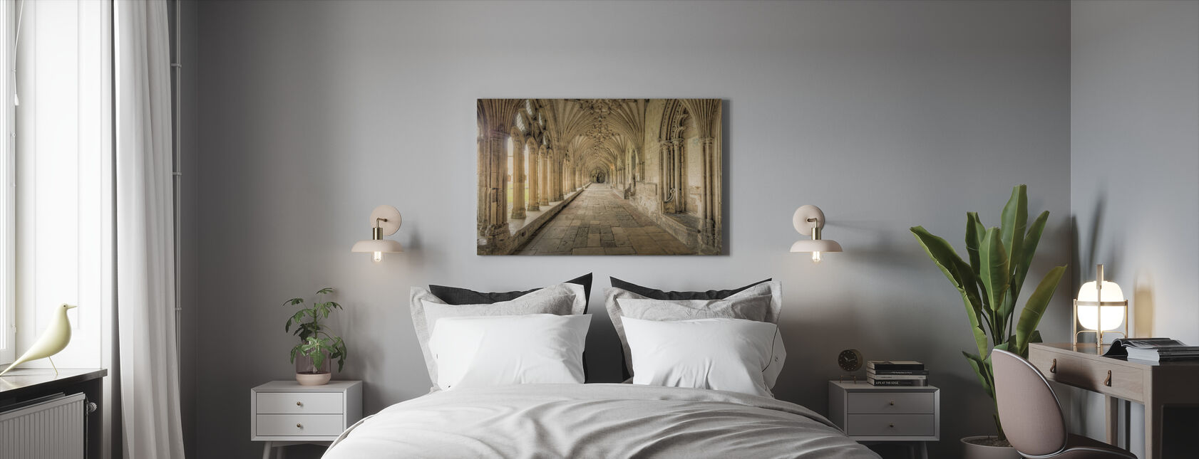 Cathedral Corridors - Canvas print - Bedroom