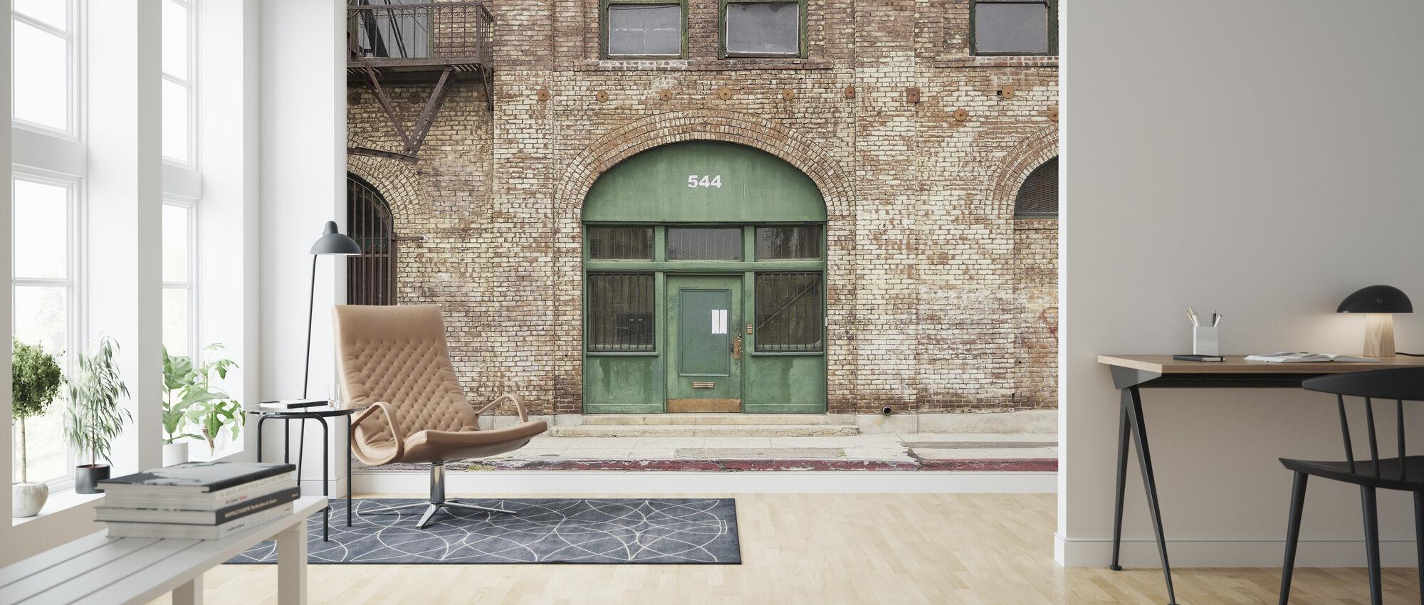 Gate Door - Wallpaper - Living Room