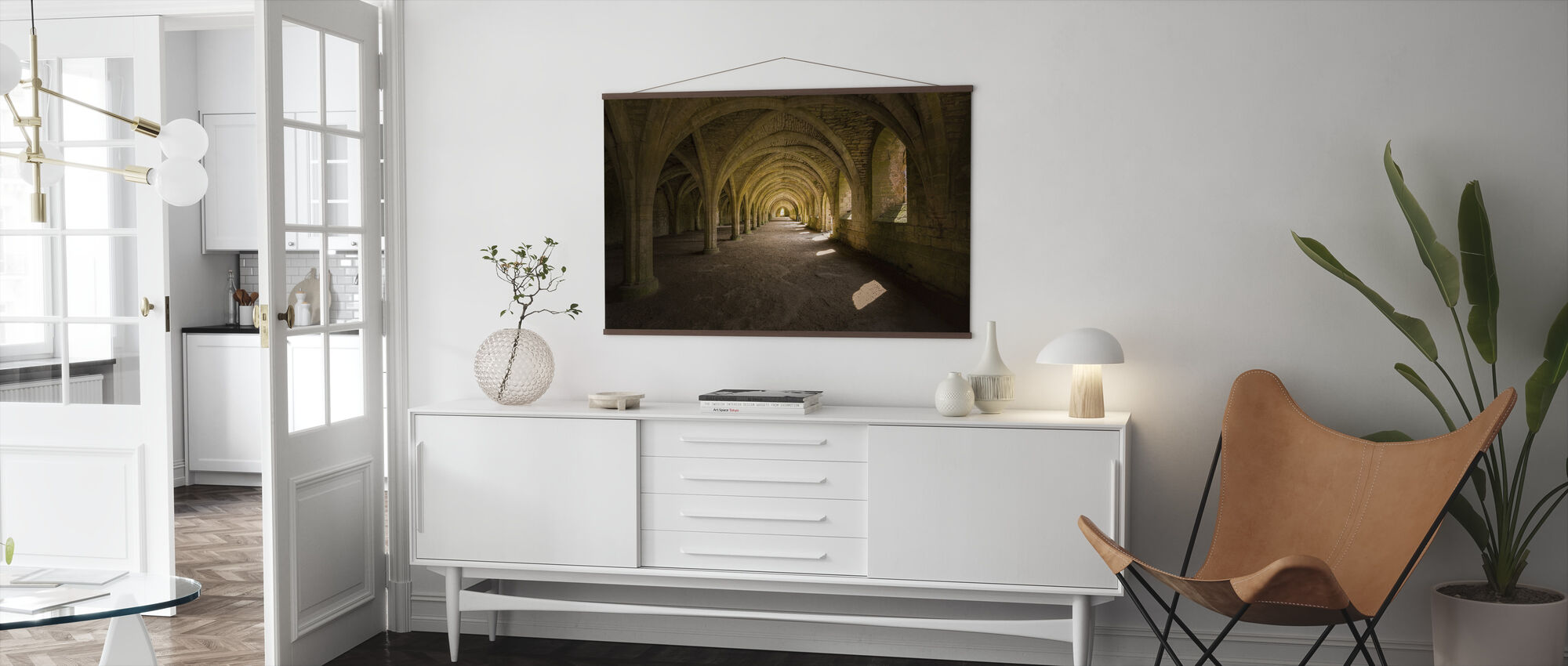 Fountain Abbey - Poster - Living Room
