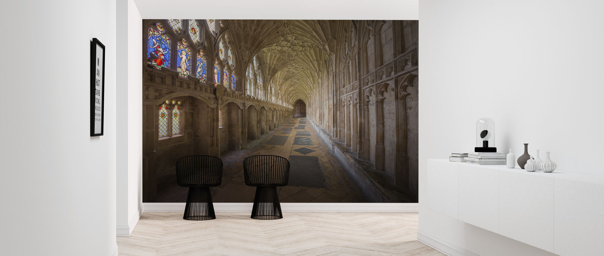 Gloucester Cathedral - Wallpaper - Hallway